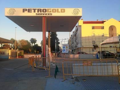 Futura gasolinera San José de La Rinconada