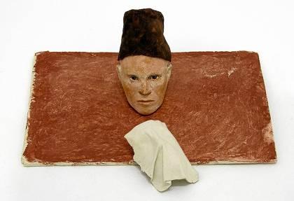 Obra de Pereñíguez en la exposición.