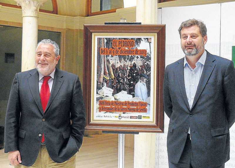 Presentación feria de El Pedroso 2013