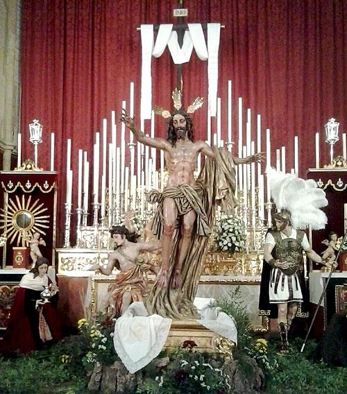Altar extraordinario de la Resurrección