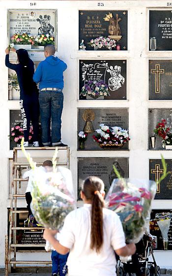 Cementerio de San Fernando. / EFE