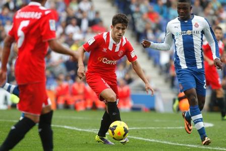 Jairo, en el partido ante el Espanyol (Marcamedia).