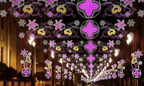 Iluminacin navidad Avenida Constitucion