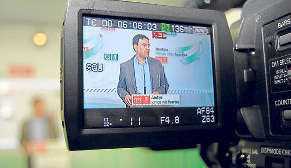 El vicesecretario general del PSOE andaluz, Mario Jiménez.