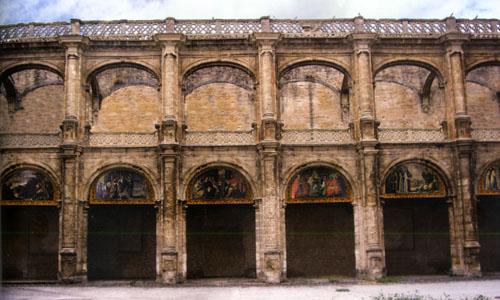 El monasterio de San Jerónimo.