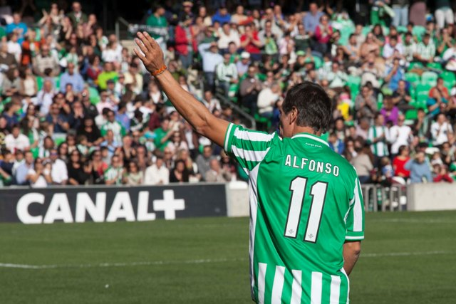 Alfonso Pérez Muñoz, este domingo en el Villamarín / J.M. Espino (Atese)