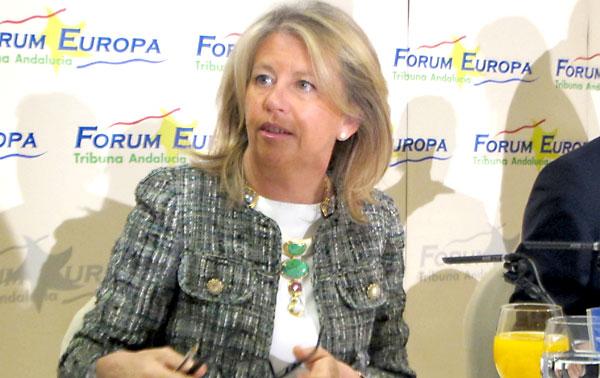 Ángeles Muñoz, alcaldesa de Marbella.