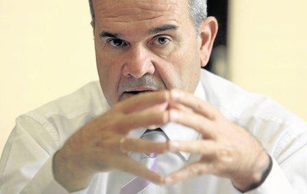 Manuel Chaves, expresidente de la Junta de Andalucía.