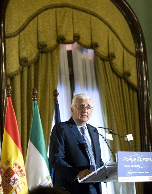 Santiago Herrero, presidente de la CEA, en una imagen de archivo. / EFE