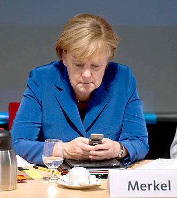 La canciller Angela Merkel. / EFE