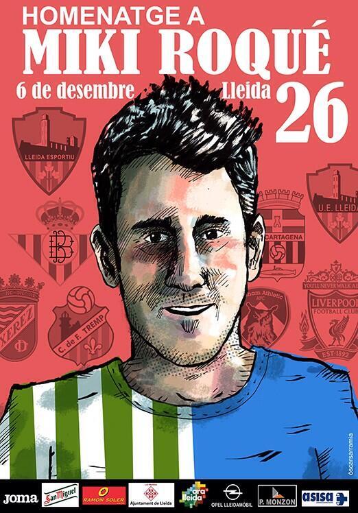 Este es el cartel que ha presentado el Lleida este miércoles.