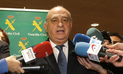 El ministro del Interior, Jorge Fernández Díaz .