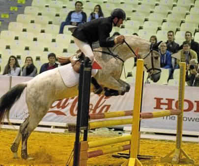 Una de las pruebas del Campeonato de España, que atrae a numeroso público al Sicab.