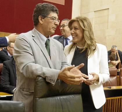 Sevilla 04 09 2013: Discurso de Susana Diaz en el parlamentoFOTO:J.M.PAISANO