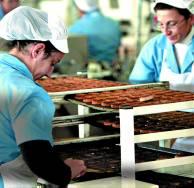 Estepa,27-11-08: Fabrica de mantecados de Estepa La Muralla.<br />  foto:Pa