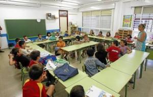 La inspección educativa comprobó que los centros tenían menos alumnos de los previstos.