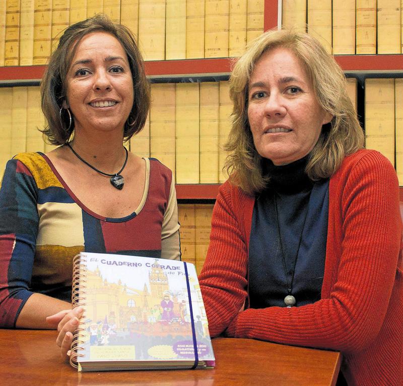 Autoras libro cofrade para niños