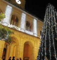 Los sevillanos tienen esta medianoche una gran cita con el reloj de la Plaza Nueva.