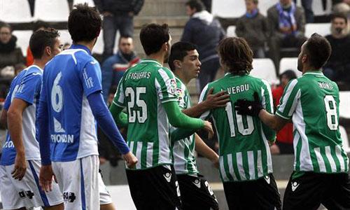 Verdu panenka Lleida Betis Copa