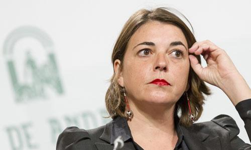 Elena Cortés, consejera de Fomento y Vivienda.