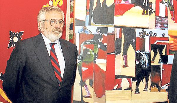 El empresario taurino Eduardo Canorea, en una imagen de archivo.