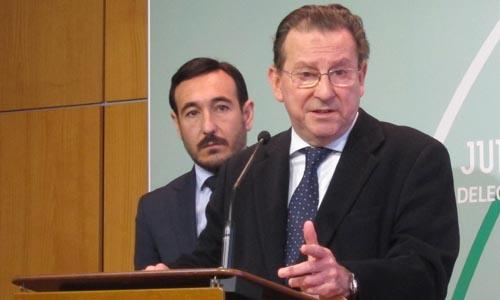 El consejero andaluz de Justicia, Emilio de Llera.