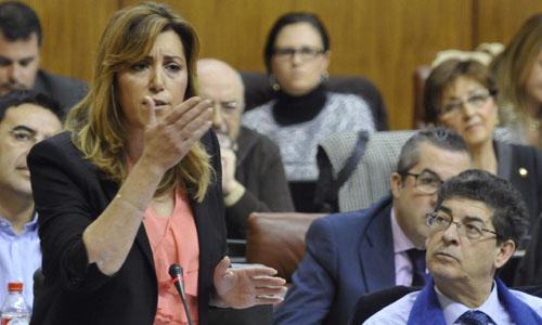 SESIÓN DE CONTROL AL EJECUTIVO EN PARLAMENTO ANDALUCÍA
