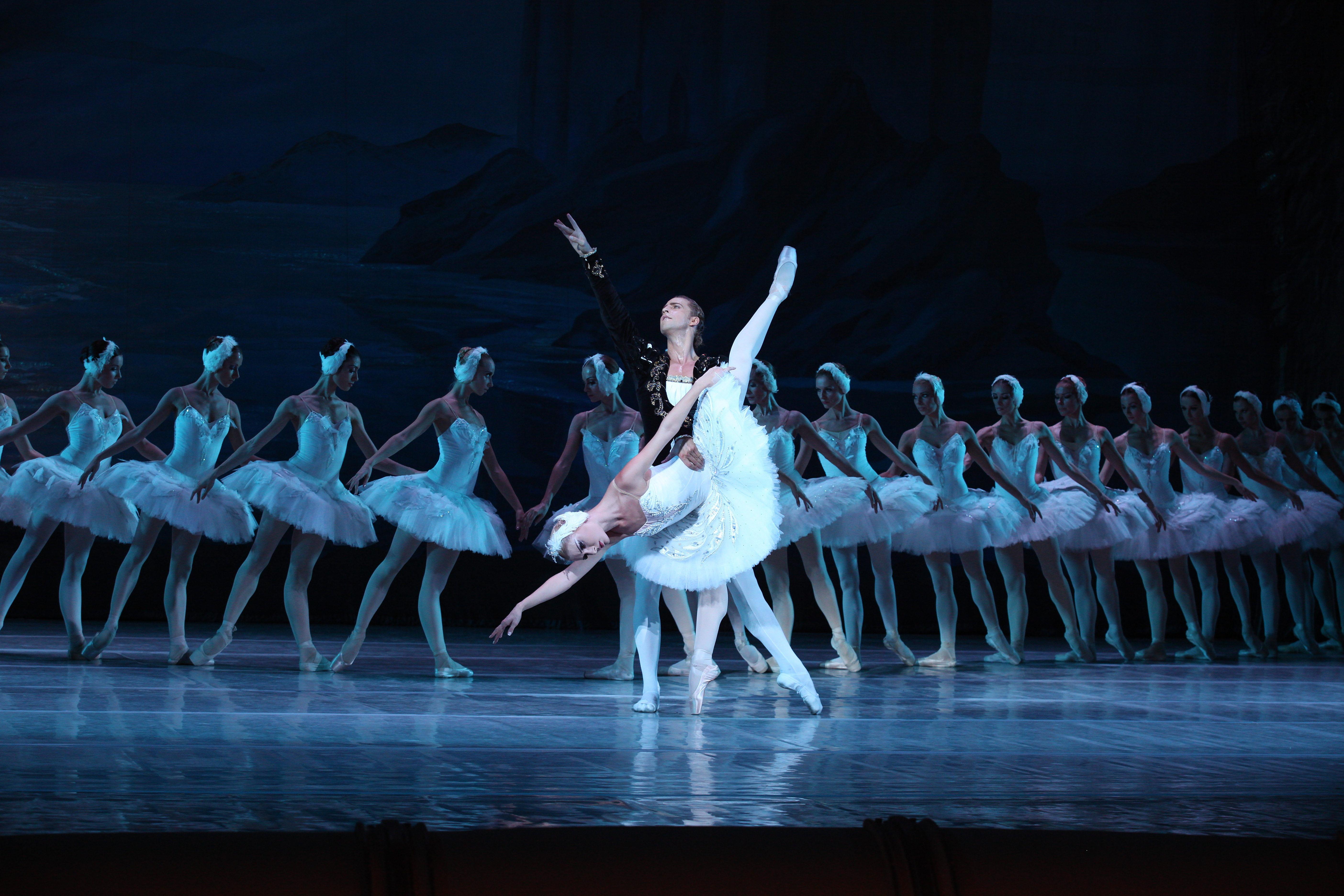 Ballet Nacional de Kiev.