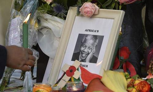 homenaje Nelson Mandela