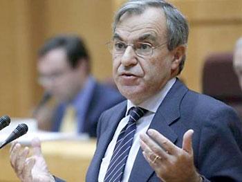 El senador del PP Luis Peral.
