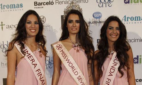miss world Sevilla Rocio Garrido