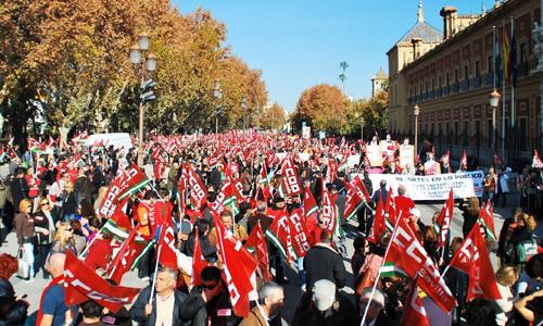 protesta-CCOO
