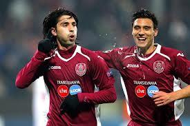 Rui Pedro celebra un gol.