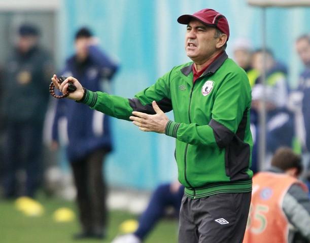 Kuban Berdyev, el entrenador del Rubin Kazan.