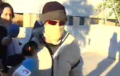 El 'violador del chándal' a su salida de la cárcel / Video ATLAS