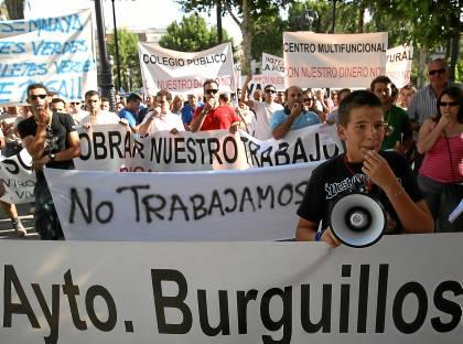 MANIFESTACION VECINOS DE BURGUILLOS