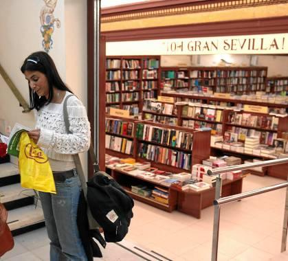 La librería de la calle Sierpes se muda
