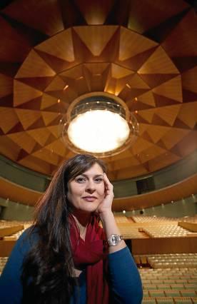 La soprano Ruth Rosique. / Pepo Herrera