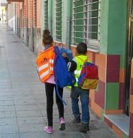 Los alumnos que salgan en patrullas a rescatar absentistas llevarán petos identificativos.