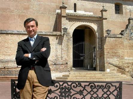 Antonio Valverde. alcalde de salteras