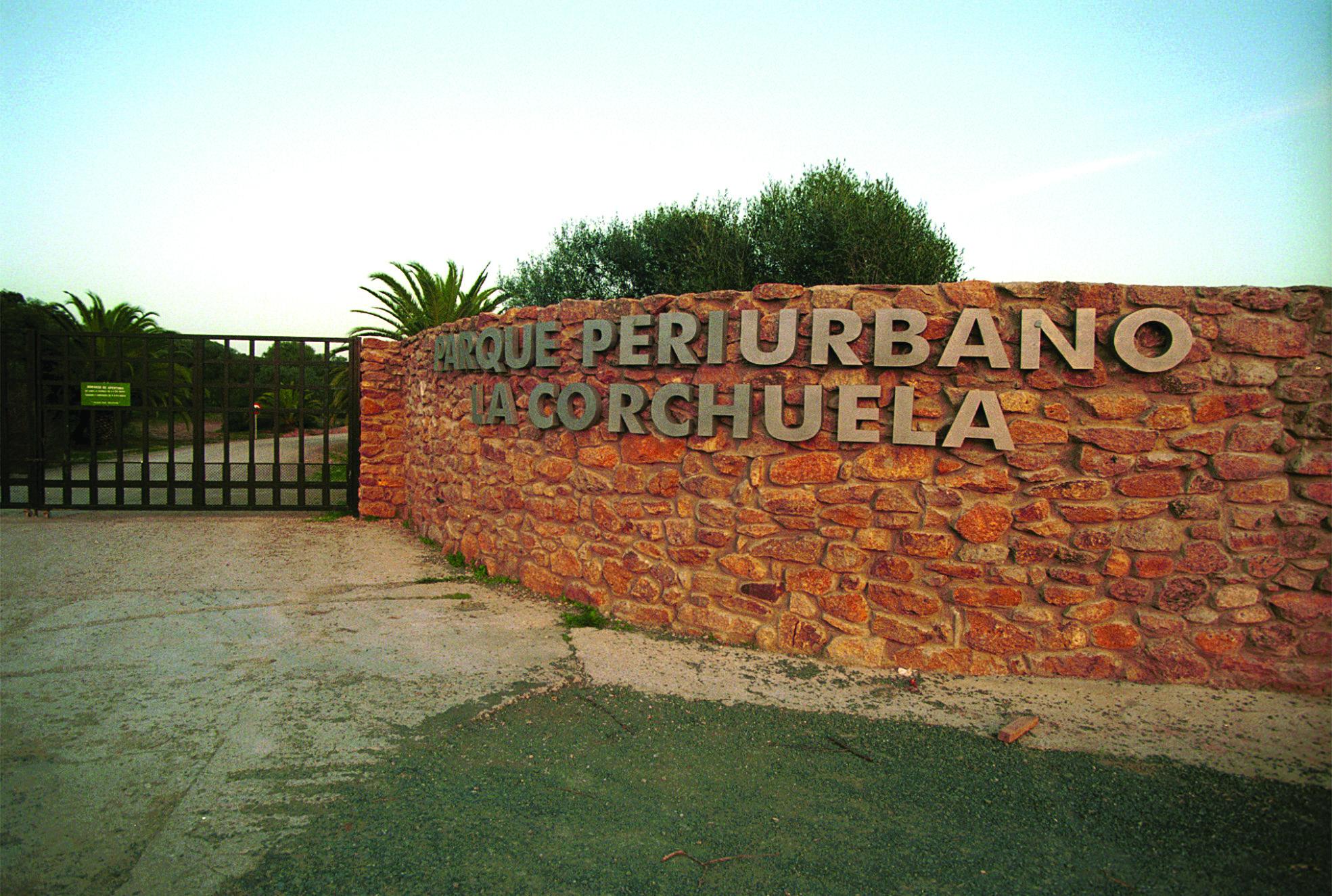 El parque periurbano de la Corchuela, ahora cerrado temporalmente, en una imagen de archivo. / Jesús Espínola