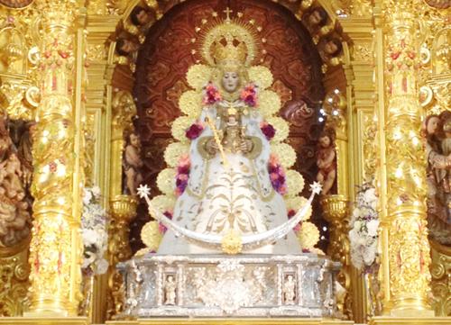 Virgen Rocío Saya