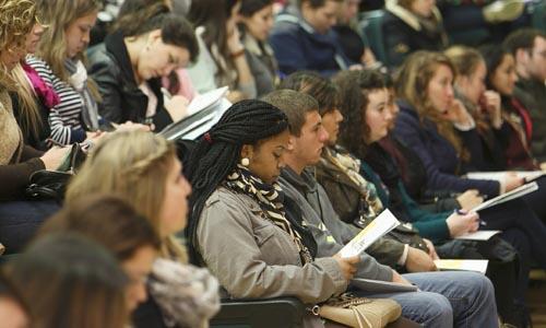 Recepción a alumnos del Programa de Estudios Hispánicos del CUI