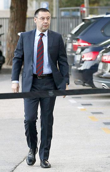 El nuevo presidente del FC Barcelona, Josep Maria Bartomeu. / EFE