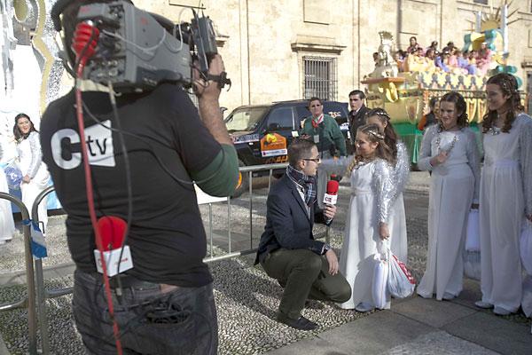 Cabalgata de los Reyes Magos de Sevilla. / Foto: J.M.Espino (Atese)