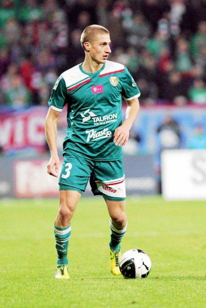 Piotr Celeban, en un partido con el Vaslui.