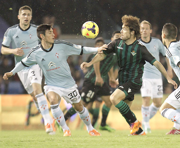 Celta de Vigo - Real Betis. / EFE