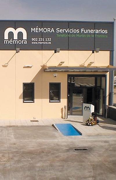 Instalaciones del tanatorio de Morón de la Frontera.