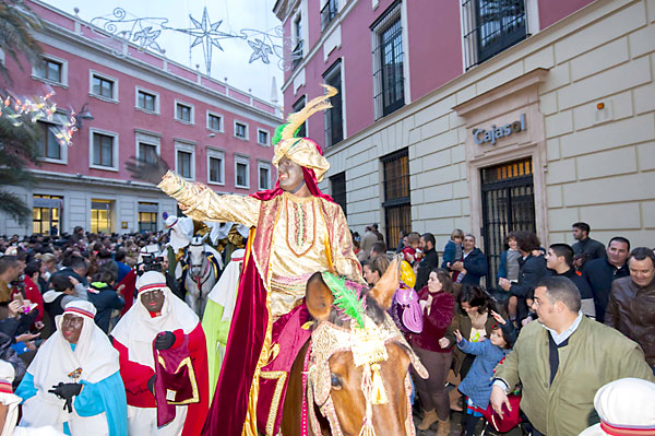 El Heraldo por las calles de Sevilla. / J.M.Paisano (Atese)