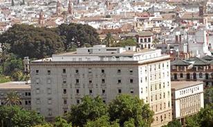 Juzgados de El Prado de San Sebastián, en Sevilla.